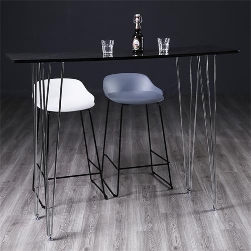 创意时尚酒吧特色大理石酒吧桌