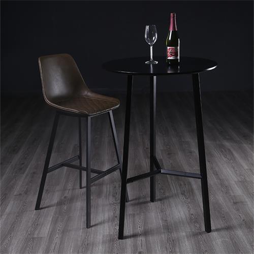 高档清吧创意个性大理石酒吧桌