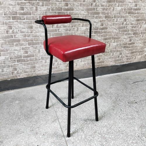 民谣酒吧高档吧台椅_酒吧铁艺椅