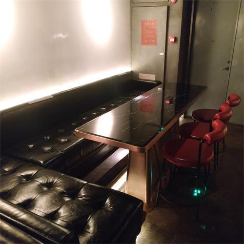 时尚酒吧沙发卡座_休闲清吧创意酒吧桌椅