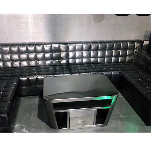 高档KTV酒吧不锈钢茶几酒吧桌_酒吧包厢沙发卡座定制