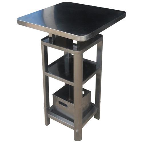 不锈钢高档酒吧桌_慢摇吧台桌高脚酒吧散台酒吧桌子
