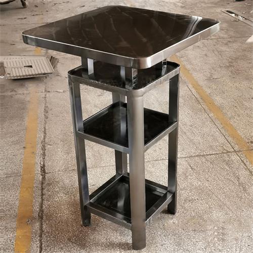 酒吧台不锈钢高脚散台散桌_不锈钢高档酒吧桌