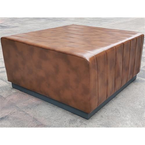 酒吧KTV包厢无扶手沙发高档方凳