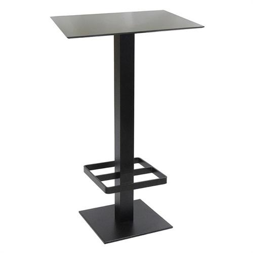 美式酒吧简约不锈钢焊脚托酒吧桌家具