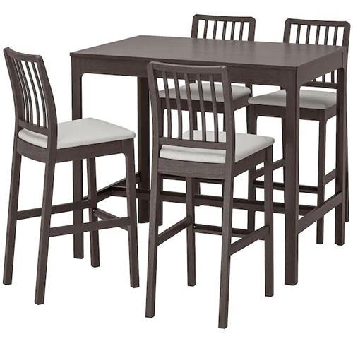 美式乡村实木高脚吧椅酒吧家具