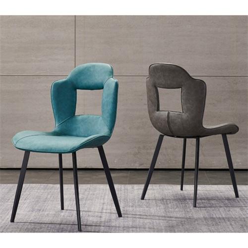 咖啡馆铁艺个性时尚靠背椅