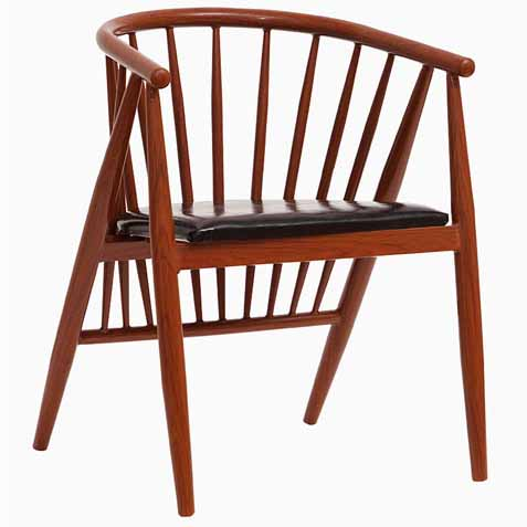 欧式休闲简约现代水曲柳咖啡椅 咖啡馆扶手实木椅子