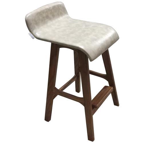 咖啡厅创意日式实木酒吧台椅小靠背_高脚凳餐厅休闲椅子
