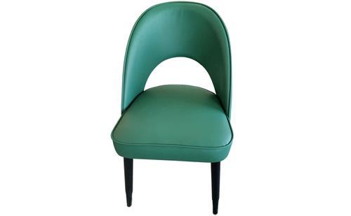 厂家直销简约现代布艺餐椅扶手椅北欧休闲洽谈椅美式咖啡椅