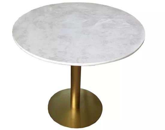 北欧咖啡桌椅_不锈钢大理石咖啡桌_咖啡休闲桌椅