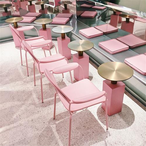 网红奶茶桌_奶茶店创意桌子椅子