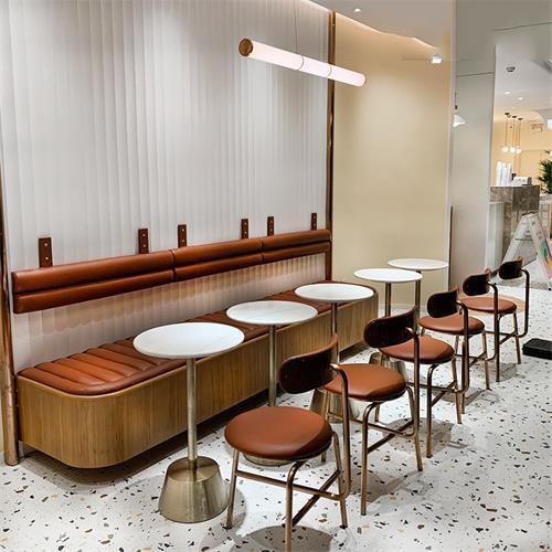 奶茶店饮品店咖啡厅酸奶屋桌椅