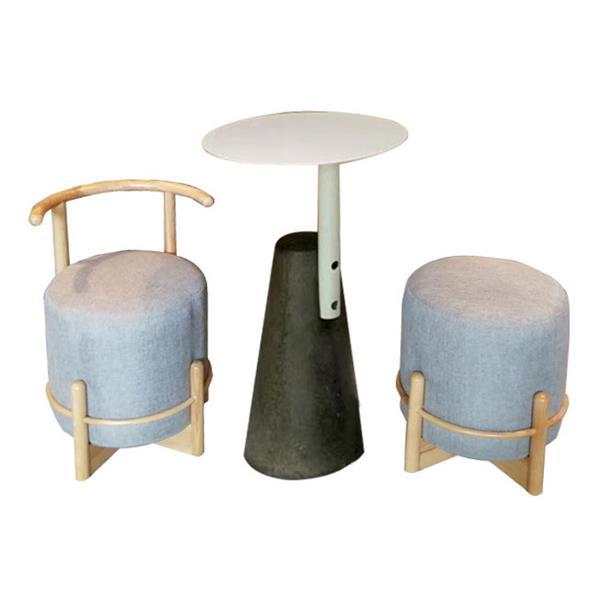 简约休闲双人咖啡店奶茶店桌椅