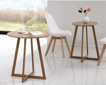 2017时尚圆型咖啡桌子-咖啡店实木桌-咖啡馆餐桌椅厂家定制