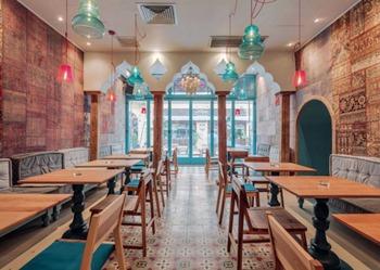 实木咖啡厅桌 咖啡店实木餐桌-咖啡馆餐饮家具