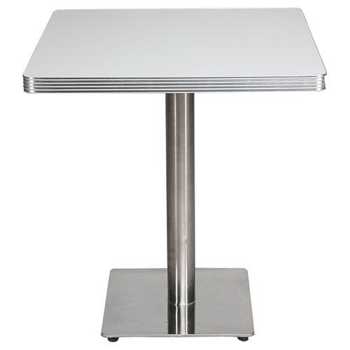 咖啡厅奶茶店铁艺桌脚大理石台面餐桌