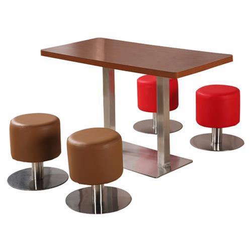 实木餐桌椅组合长方形食堂饭桌