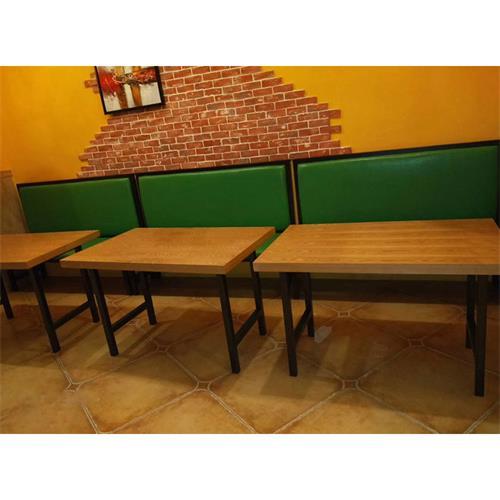 机关食堂专用餐桌_食堂实木餐桌椅厂家批发直销