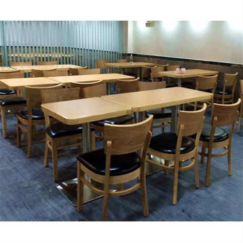 2人位员工食堂餐桌椅_4人位单位食堂快餐桌椅-厂家批发直销