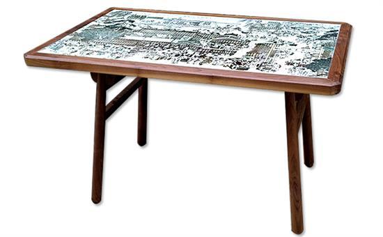 4人位饭堂桌椅_企业单位学校食堂桌椅