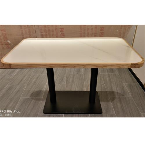 食堂职工餐桌椅-4人位食堂家具