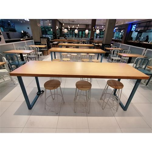 员工餐厅职工食堂桌椅_公司食堂饭堂家具