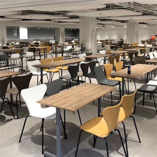 学校食堂餐桌椅家具_学校饭堂桌椅