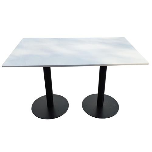 大学食堂专用时尚大理石餐桌