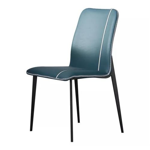 西餐厅现代简约轻奢风格铁艺餐椅