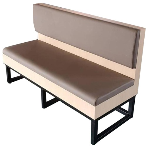 美式西餐厅咖啡厅铁艺实木时尚卡座沙发