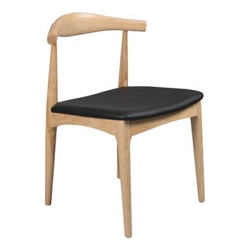 现代简约中美风格水曲柳西餐厅餐椅-西餐厅餐椅厂家直销
