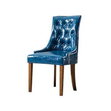 新古典欧式实木靠背西餐厅餐椅