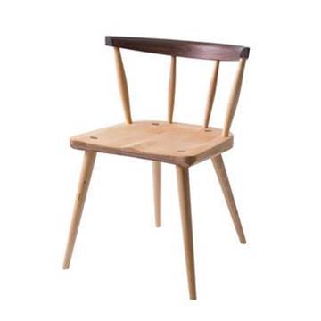 黑胡桃木樱桃木餐椅北欧实木西餐椅子