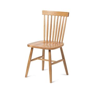 时尚潮流水曲柳实木西餐厅温莎椅-西餐厅桌椅厂家批发