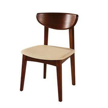 实木复古餐椅 靠背西餐椅子