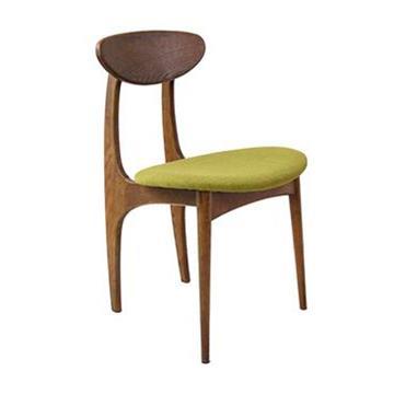 蝴蝶椅 北欧简约实木西餐椅