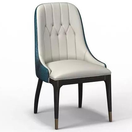 意大利港式轻奢餐厅餐椅_后现代创意餐椅