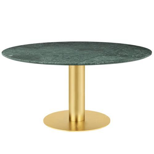 北欧高档西餐厅桌椅_酒店会所大理石不锈钢圆形餐桌