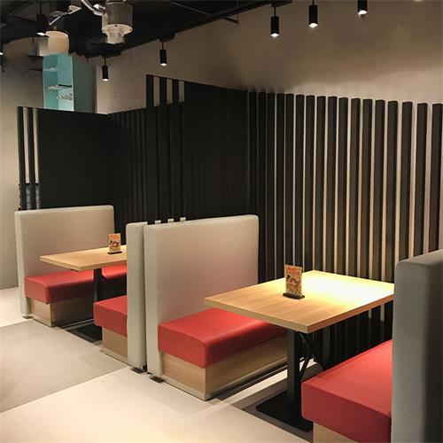 奶茶店饮品快餐店西餐厅实木桌椅