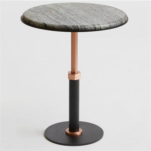 现代大理石极简风格西餐厅餐桌