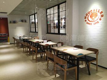 最新时尚橡木西餐桌-西餐厅桌椅定做厂家海德利