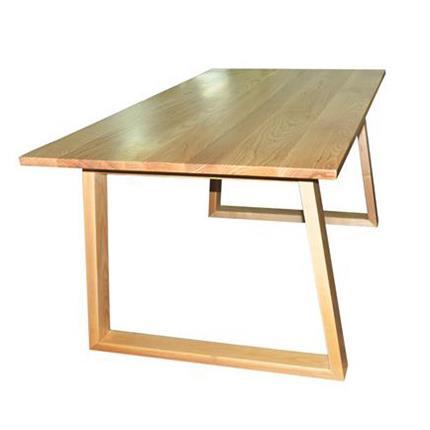 北欧风格长方形实木西餐桌