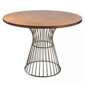 北欧风实木西餐桌