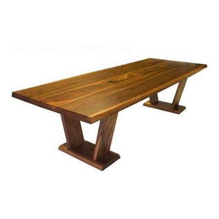 实木餐桌北欧日式原木大板西餐桌