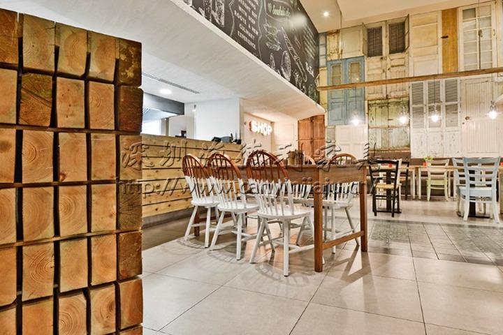 2017最新欧式实木西餐厅桌椅套装组合家具-厂家定制