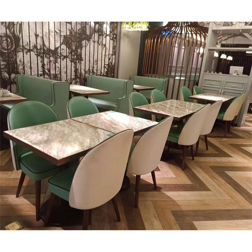 宴会酒楼时尚地方菜中餐厅小清晰大理石餐桌