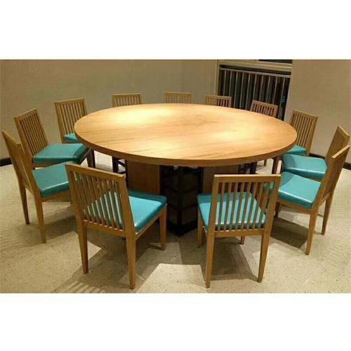 酒楼湘菜馆川菜餐厅包厢12人位实木桌椅--厂家直销