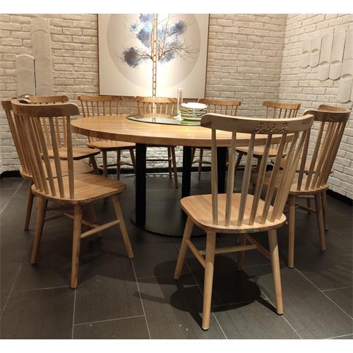 中餐厅湘菜馆川菜馆包房实木桌椅