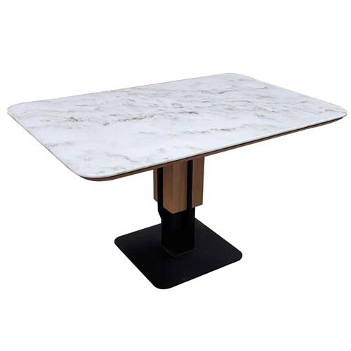 现代时尚粤菜中餐厅大理石桌子